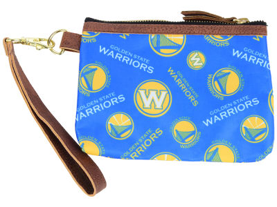 Golden State Warriors Printed Collection Wristlet