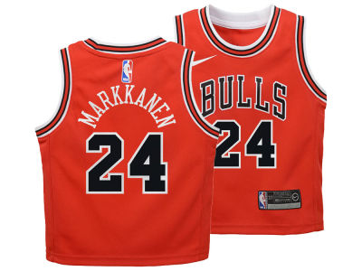 Chicago Bulls Lauri Markkanen Nike NBA Toddler Icon Replica Jersey