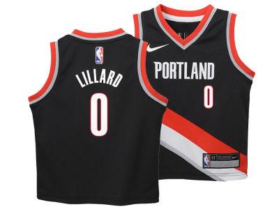 114d573d1f65 ... promo code for portland trail blazers damian lillard nike nba toddler  icon replica jersey 43b04 883c1