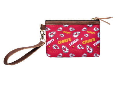 Kansas City Chiefs Printed Collection Wristlet
