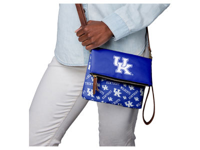 Kentucky Wildcats Printed Collection Foldover Crossbody Purse