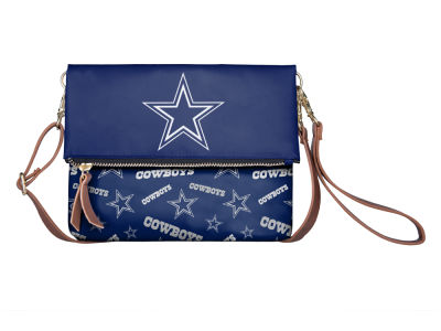 Dallas Cowboys Printed Collection Foldover Crossbody Purse