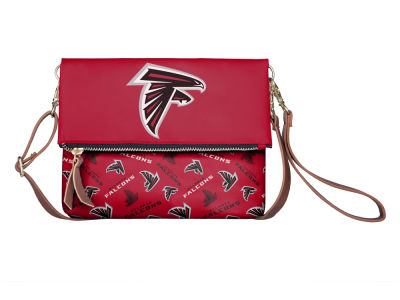 Atlanta Falcons Printed Collection Foldover Crossbody Purse