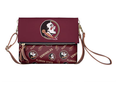 Florida State Seminoles Printed Collection Foldover Crossbody Purse