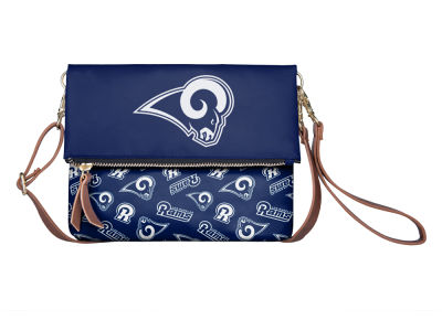 Los Angeles Rams Printed Collection Foldover Crossbody Purse