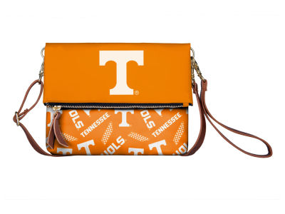 Tennessee Volunteers Printed Collection Foldover Crossbody Purse