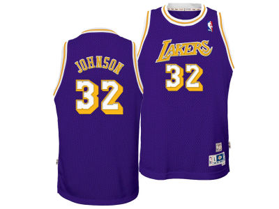 Los Angeles Lakers Magic Johnson Nike NBA Youth Retired Player Swingman Jersey