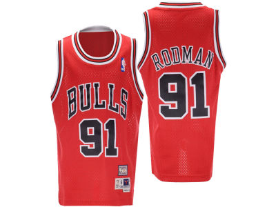 Chicago Bulls Dennis Rodman Nike NBA Youth Retired Player Swingman Jersey