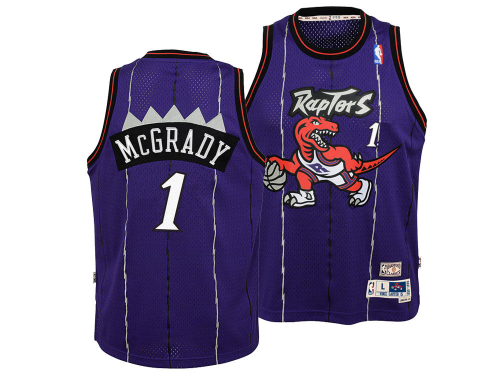 Toronto Raptors Tracy Mcgrady Nike NBA Youth Retired Player Swingman Jersey   06ba0f7b1