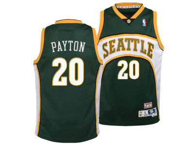 Seattle SuperSonics Gary Payton Nike NBA Youth Retired Player Swingman Jersey