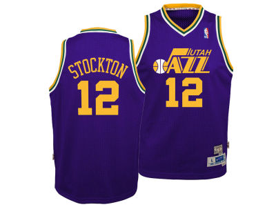 Utah Jazz John Stockton Nike NBA Youth Retired Player Swingman Jersey