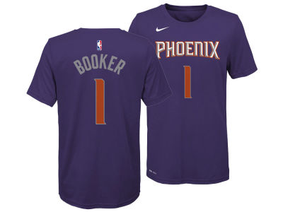 Phoenix Suns Devin Booker Nike NBA Youth Icon Name and Number T-Shirt
