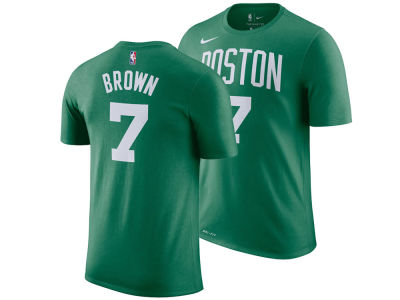 Boston Celtics Jaylen Brown Nike NBA Youth Icon Name and Number T-Shirt