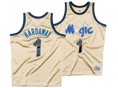 Orlando Magic Penny Hardaway Mitchell & Ness NBA Men's Gold Collection Swingman Jersey