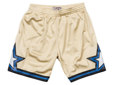 Orlando Magic Mitchell & Ness NBA Men's Gold Collection Swingman Shorts
