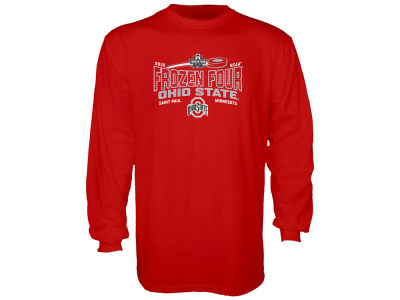 Ohio State Buckeyes 2018 NCAA Men's Frozen Four Bound Long Sleeve T-Shirt