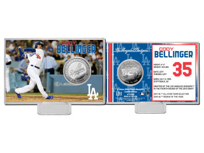 Los Angeles Dodgers Cody Bellinger Coin Card-Silver