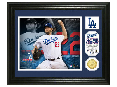 Los Angeles Dodgers Clayton Kershaw Highland Mint Photo Mint Coin-Bronze