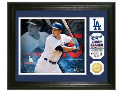 Los Angeles Dodgers Corey Seager Highland Mint Photo Mint Coin-Bronze