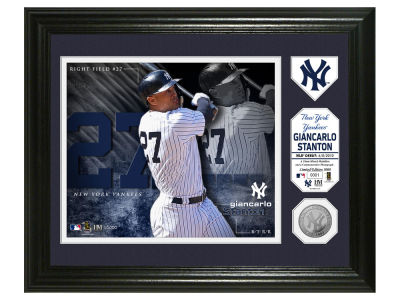 New York Yankees Giancarlo Stanton Photo Mint Coin-Bronze