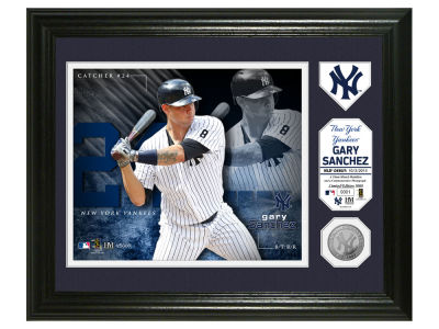 New York Yankees Gary Sanchez Highland Mint Photo Mint Coin-Bronze