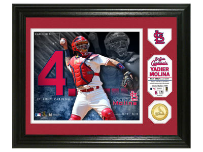 St. Louis Cardinals Yadier Molina Highland Mint Photo Mint Coin-Bronze