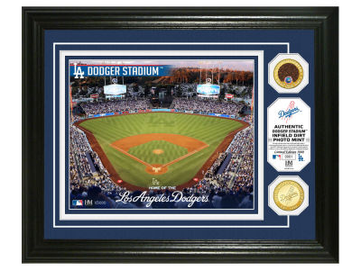 Los Angeles Dodgers Highland Mint Dirt Coin Photo Mint