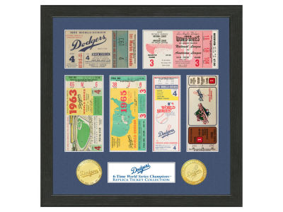 Los Angeles Dodgers Highland Mint Ticket Frame