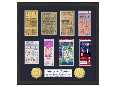 New York Yankees Highland Mint Ticket Frame