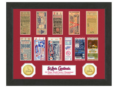 St. Louis Cardinals Highland Mint Ticket Frame