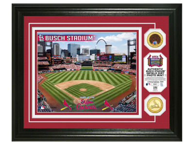 St. Louis Cardinals Highland Mint Dirt Coin Photo Mint
