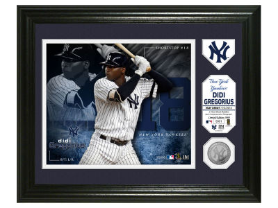 New York Yankees Didi Gregorius Highland Mint Photo Mint Coin-Bronze