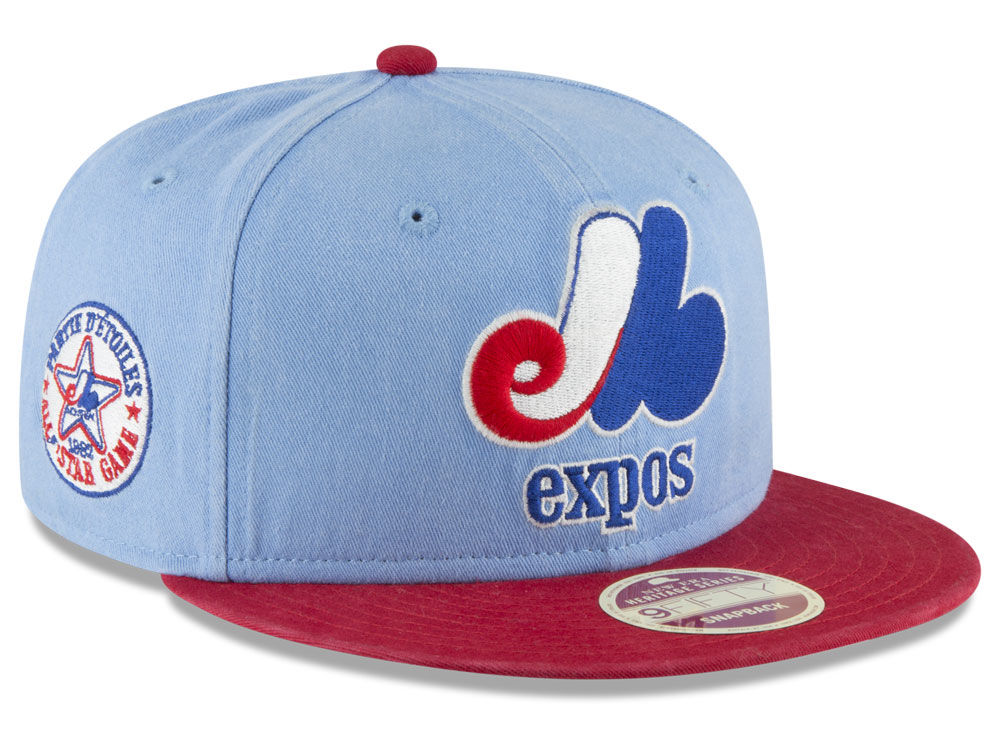 066ddc8b2f5 Montreal Expos New Era 2018 MLB All Star Injection 9FIFTY Snapback Cap