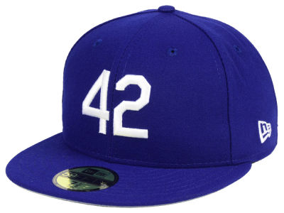 Brooklyn Dodgers New Era MLB Custom Jackie Robinson 59FIFTY Cap