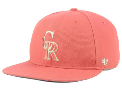 Colorado Rockies '47 MLB Island Snapback Cap
