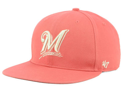 Milwaukee Brewers '47 MLB Island Snapback Cap