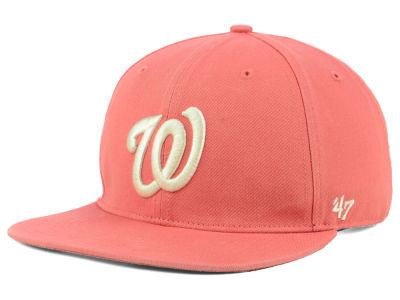 Washington Nationals '47 MLB Island Snapback Cap