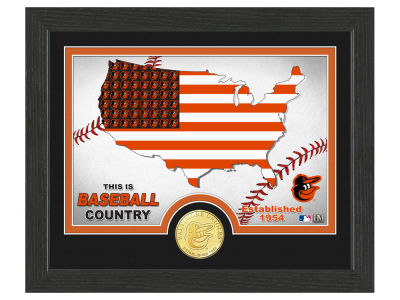 Baltimore Orioles Highland Mint Country Bronze Coin Photo Mint