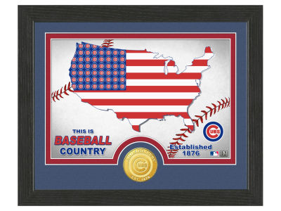 Chicago Cubs Highland Mint Country Bronze Coin Photo Mint