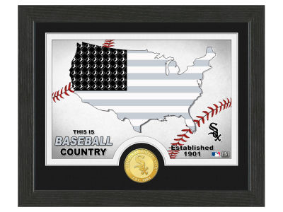 Chicago White Sox Highland Mint Country Bronze Coin Photo Mint