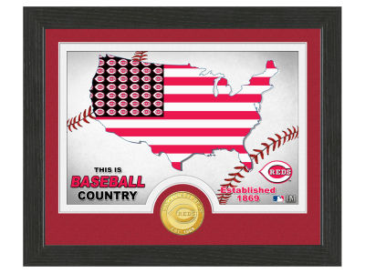 Cincinnati Reds Highland Mint Country Bronze Coin Photo Mint