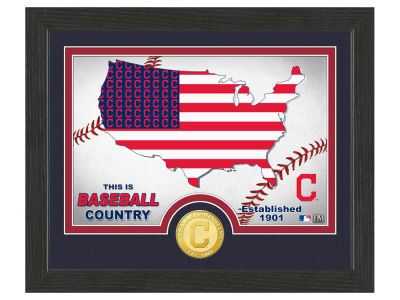Cleveland Indians Highland Mint Country Bronze Coin Photo Mint