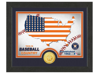 Houston Astros Highland Mint Country Bronze Coin Photo Mint