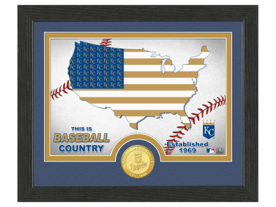 Kansas City Royals Highland Mint Country Bronze Coin Photo Mint