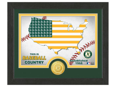 Oakland Athletics Highland Mint Country Bronze Coin Photo Mint