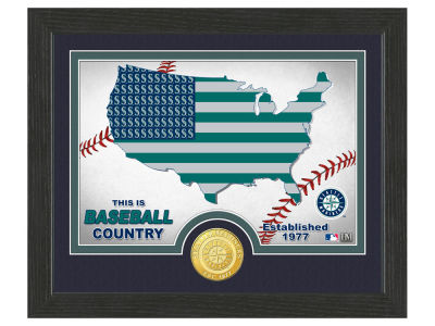 Seattle Mariners Highland Mint Country Bronze Coin Photo Mint