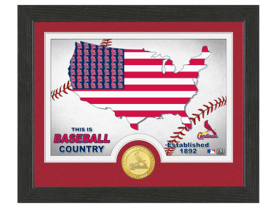 St. Louis Cardinals Highland Mint Country Bronze Coin Photo Mint