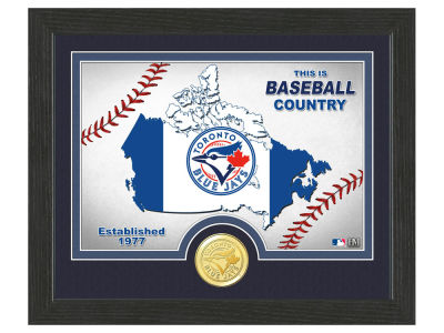 Toronto Blue Jays Highland Mint Country Bronze Coin Photo Mint
