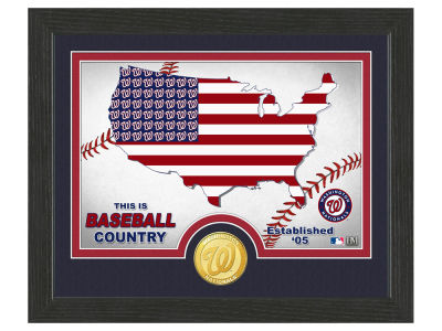 Washington Nationals Highland Mint Country Bronze Coin Photo Mint