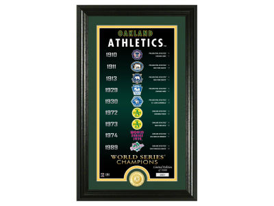 Oakland Athletics Highland Mint Legacy Supreme Bronze Coin Photo Mint